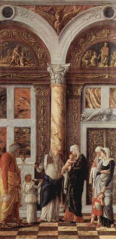 Andrea Mantegna 002 - Trittico degli Uffizi - Circoncisione