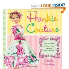 Someday my neices will be old enough to play with barbies & I'll have to make clothes for them!