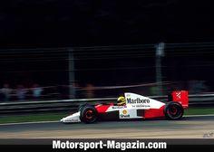 Formel 1 1990, Italien GP, Monza, Ayrton Senna, McLaren, Bild: Sutton
