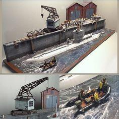 German U-Boat Submarine 1/35 diorama from Accurate Armour #scalemodel…