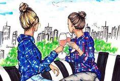 Una hermana es más que una amiga, es la mitad de nuestro corazón