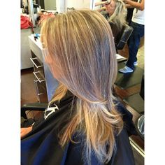 #hair #hairstylist #blonde #highlights #lowlights
