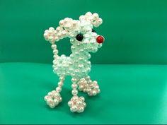 Kết chú chó xù hạt cườm P3 - Tutorial How to Make a Beaded the dog - YouTube
