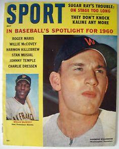 sport magazine back issues 1960 to 1965 | Sport Magazine 5 1960 Harmon Killebrew Cover | eBay