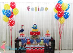 Galinha Pintadinha #party #festa #mamaearteira