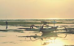 Sunrise @ sanur beach, Bali