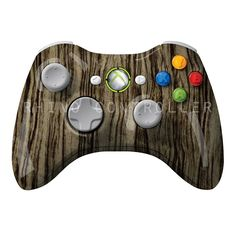 XBOX 360 controller Wireless Glossy WTP-262-Black-Gunstock Custom Painted- Without Mods