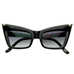 Purchase Super Cateye NYC Designer Inspired Fashion Cat Eye Sharp High-Pointed Sunglasses from SunglassLA on OpenSky. Share and compare all Accessories. Nyc Fashion, Look Fashion, Fashion Design, Fashion Edgy, Fashion Ideas, Fashion Inspiration, Fashion Vest, Fashion 2018, Fashion Trends