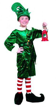 Elf costume child Deluxe - Las Fiestas
