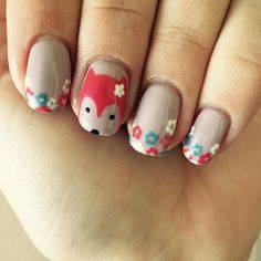 @carmenlisanails for another beautiful set.  #nails #fox