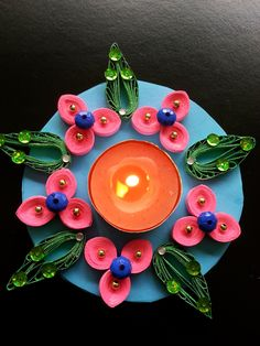 189 Best Quilled T Light Holders Images Quilling
