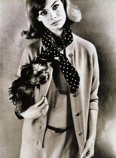 Jean Shrimpton, 1963    photographed by Eugene Vernier