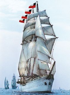 One of the Worlds greatest treasures. Four-masted barquentine. Moby Dick, Old Sailing Ships, Wooden Ship, Yacht Boat, Armada, Sail Away, Set Sail, Wooden Boats, Yachts