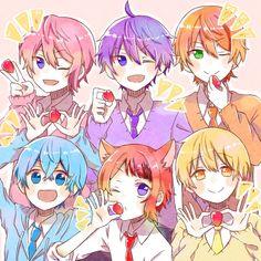 Anime Chibi, Anime Art, Rainbow Wedding, Indie Pop, Super Hero Life, Cute Anime Boy, Ensemble Stars, Touken Ranbu, Vocaloid