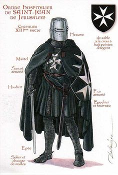 Knights Hospitaller, 13th Century Sovereign Military Hospitaller Order of Saint John of Jerusalem of Rhodes and of Malta, Knights of Malta, Knights of Rhodes, and Chevaliers de Malte. Active: c.1099–Present Allegiance: Papacy