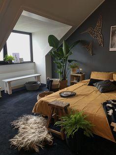 Bedroom Inspo, Bedroom Decor, Interior Exterior, Interior Design, Home Panel, Loft Room, Blue Bedroom, New Room, House Rooms