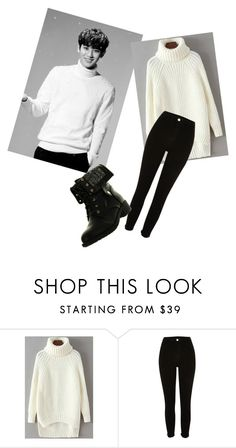 """""""EXO Chanyeol inspired"""" by leenakpop ❤ liked on Polyvore featuring River Island and Refresh"""