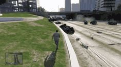 Rule Number One: Stay OFF the freeway! Hit the #gif to watch this sensational video