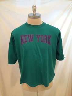 80s New York vintage tshirt Sunbelt Sportswear by CuratedClothing