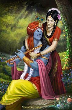 krishna radha painting by hariom singh Krishna Leela, Baby Krishna, Cute Krishna, Jai Shree Krishna, Radha Krishna Photo, Radha Krishna Love, Radhe Krishna, Radha Rani, Lord Krishna Images