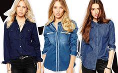 Camicia jeans da donna, come indossarla!   Impulse