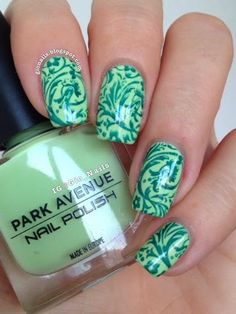 We Love Nail Stamping And Include Stamps In All Our Thenaileditbox Art Subscription Bo Gionails Abc Das Unhas Letra E Exotic Park Avenue