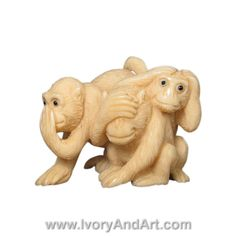 Take a look in this overwhelming Mammoth Ivory Netsuke – Three Wise Monkeys See No, Hear No , Speak No Evill . This Netsuke is Hand carved by Master Carver to perfection. This netsuke is made of 100% genuine Mammoth Ivory Tusk. The extinct woolly Mammoth roamed the earth before [...]