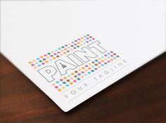 Premium Paint Logo for Start Ups!