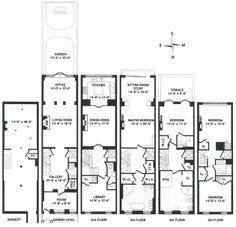Sonja Morgan upper east side townhouse floorplan