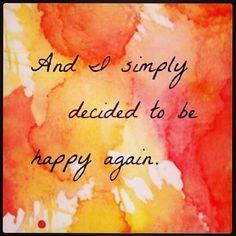 Happy Me!!