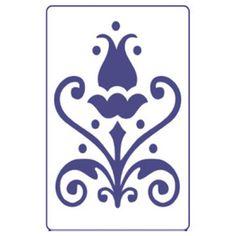 Στενσιλ PENTART A5 - Λουλουδια S18