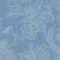 Floreale Carta da parati TNT MUZE 200-102 ottica tessili azzurro viola verde…