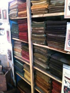 Lots of wool!