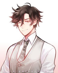 Badchunks - - Italy - I'll post random things and drawings.🐱 Current obsession: Mystic Messenger (also Miraculous Ladybug, Devilman, IT). Jumin Han Mystic Messenger, Mystic Messenger Characters, Jumin X Mc, Saeran, Shall We Date, Cute Anime Guys, Handsome Boys, Intj, Anime Characters