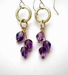 earrings:
