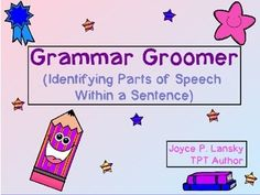These twelve lessons help students learn basic parts of speech, such as nouns, verbs, and adjectives. Students practice parts of speech by copying a sentence while fixing it's grammar. Next, students underline or circle parts of speech as asked. Finally, students write sentences of their own with the given criteria of the lesson.