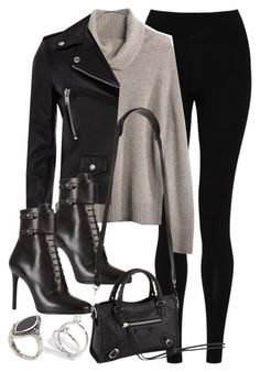 """""""Style #9714"""" by vany-alvarado ❤ liked on Polyvore featuring M&S Collection, Madewell, Yves Saint Laurent, Prada, Balenciaga, ASOS, women's clothing, women's fashion, women and female"""