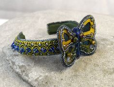 Hey, I found this really awesome Etsy listing at https://www.etsy.com/au/listing/260803205/boho-butterfly-cuff-blue-butterfly-cuff