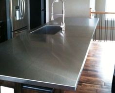 kitchen countertops stainless steel | Advantages of Stainless Steel Kitchen Countertops
