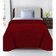Super India Polar Fleece Polyester Single Blanket - Red Winter Blankets, Polar Fleece, India, Bed, Furniture, Home Decor, Rajasthan India, Stream Bed, Interior Design