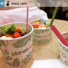 "@planetyogurtke's photo: ""Tubs on tubs on tubs! Call that tub-out? No? Okay, we'll stop! #Yogurteers @tracy_njeri with @repostapp.