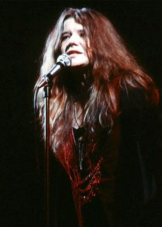 Janis Joplin and her emotional voice