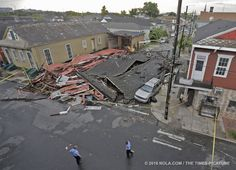 Destruction was focused in Tremé along North Claiborne Avenue. Down In New Orleans, Touch Down, National Weather Service, Destruction, We The People, World, News, Latest Updates, Louisiana