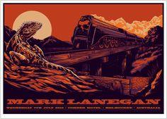 Mark Lanegan - Poster