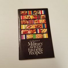 612229b39dc8 A Collection of Military Wives Favorite Recipes 1977 General Mills VTG