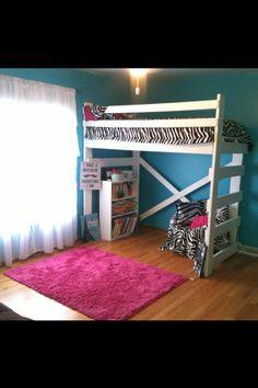 1000 Images About Tween Loft Beds On Pinterest Loft Beds Tween Girls And Tween