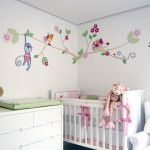 Cute and colorful BabyGirl Room .
