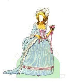 Marie Antoinette | Gabi's Paper Dolls
