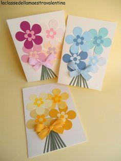 Fleur Brownie brownie n a mug Diy Mother's Day Crafts, Mothers Day Crafts For Kids, Paper Crafts For Kids, Mother's Day Diy, Mothers Day Cards, Easy Crafts For Kids, Spring Crafts, Flower Cards, Paper Flowers