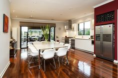 House Nerd featured our home - here's our 3m x 1.5m custom built table in the kitchen/living    For sale at http://www.realestate.com.au/property-house-wa-coogee-113571075